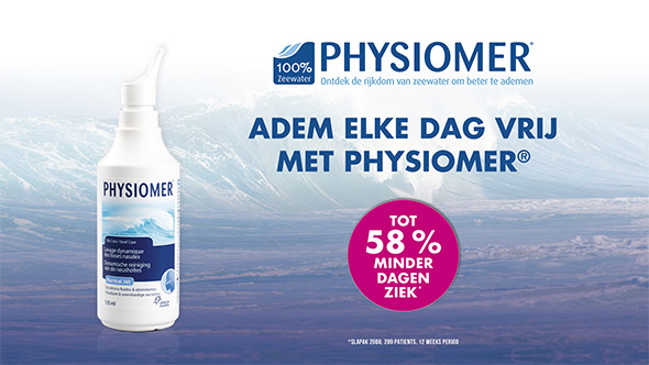 Physiomer: 100% de pure kracht van de zee... en van tv